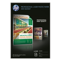 Photopaperi laser HP CG966A glossy A4 200g/100