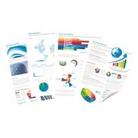 Värikopio- ja laserpaperi Q-Connect A4 160g /250 - pölyämätön päällystämätön paperi väritulostukseen