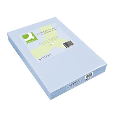 Kopiopaperi Q-Connect A4 80g vaaleansininen/500