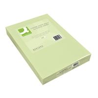 Kopiopaperi Q-Connect A4 80g vaaleanvihreä/500