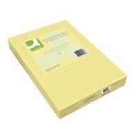 Kopiopaperi Q-Connect A4 80g vaaleankeltainen/500