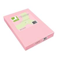 Kopiopaperi Q-Connect A4 80g vaaleanpunainen/500