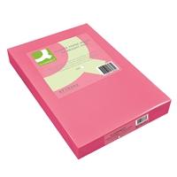 Kopiopaperi Q-Connect A4 80g pinkki/500