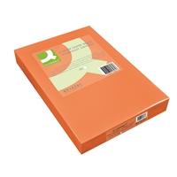 Kopiopaperi Q-Connect A4 80g oranssi/500