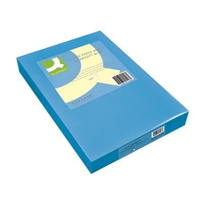 Kopiopaperi Q-Connect A4 80g sininen/500