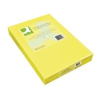 Kopiopaperi Q-Connect A4 80g keltainen/500