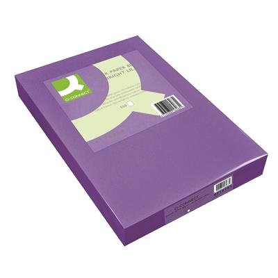 Kopiopaperi Q-Connect A4 80g lila/500