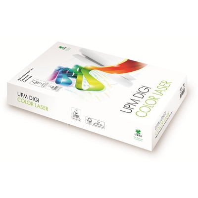 Image for Kopiopaperi A4/500 100g valkoinen UPM digi color laser from Suomalainen.com