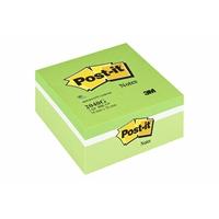 Viestilappukuutio Post-it 2040 76X76 vihreä pastelli