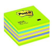 Viestilappukuutio Post-it 2028 76X76mm neonvihreä