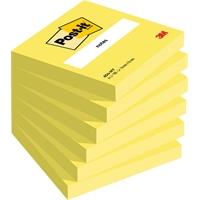 Viestilappu Post-it 654 76X76mm neonkeltainen - viestilappu, joka ei jää huomaamatta