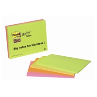 Viestilappu Post-it Super Sticky Meeting Notes A5 /4 kpl