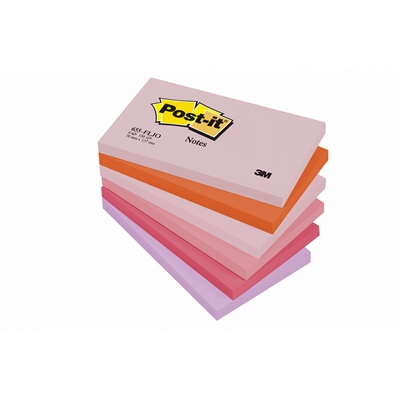 Viestilappu Post-it Joyful 655 76x127mm/12 kpl