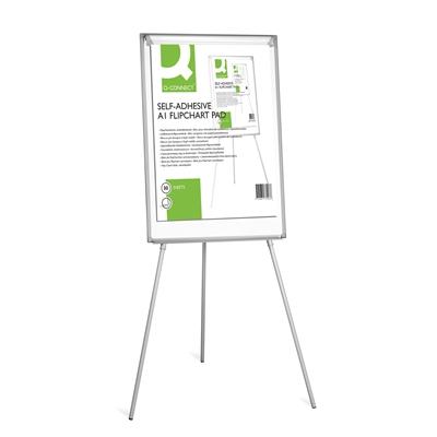 Taululehtiö - fläppipaperi Q-Connect tarrareuna 63,5x79,2 cm /2