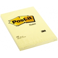 Viestilappu Post-it 659 102X152mm keltainen