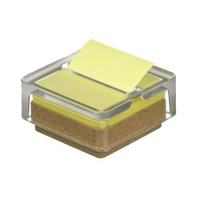 Post-It Z-note lehtiö 76x76 keltainen + upea lasiteline!