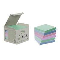 Viestilappu Post-it Eko 654 (76X76) pastelli, 6 kpl