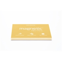 Viestilappu Magnetic Notes 100x70mm sunshine