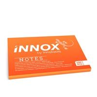 Viestilappu Innox Notes 100x70mm oranssi - Suomessa valmistettu sähköstaattinen viestilappu