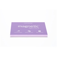 Viestilappu Magnetic Notes 100x70mm lila
