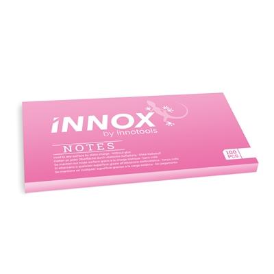 Viestilappu Innox Notes 200x100mm pinkki - Suomessa valmistettu sähköstaattinen viestilappu