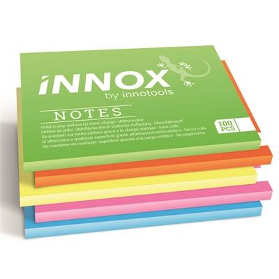 Viestilappu Innox Notes 10x7 cm 5 värin pakkaus
