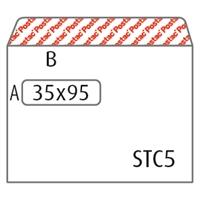 Ikkunakuori C5 Postac 80g STRH 35x95/1000