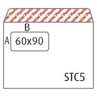 Isoikkunakuori C5 Postac STRH 60x90 valkoinen/1000