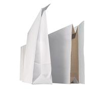 Tarranäytepussi NP01TV 20X33X6 cm valkoinen/100