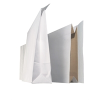 Tarranäytepussi 25x43x7cm valkoinen /100