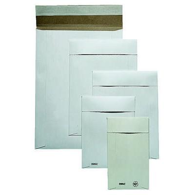 Kartonkikuori 32x45cm valkoinen, tarralla
