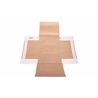 Postituskuori Pandaroll 40x62 cm ruskea
