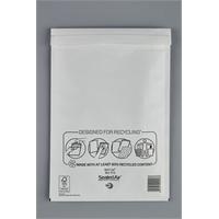 Kuplapussi D/1 18X26cm sisämitta valkoinen - sisus kierrätysmuovia, helppo irroittaa ja kierrättää