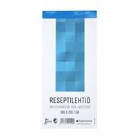 Reseptilehtiö 100X210/50 blanco