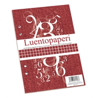 Luentopaperi A5/100 7X7 ruudutettu 8-12 rei'itys