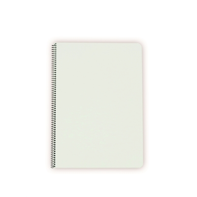 Kierrevihko muovikantinen A5/80 ruudut 7 x 7 mm valkoinen - kotimainen Avainlippu-tuote