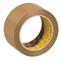Pakkausteippi Scotch 6890 50 mm x 66 m ruskea - erittäin kestävä pvc-teippi
