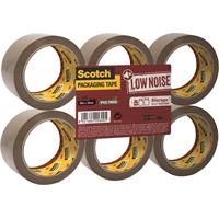 Pakkausteippi Scotch Low Noice 50x66 ruskea