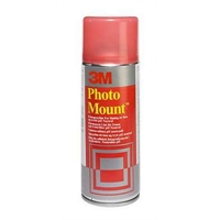 Valokuvaliima 3M PhotoMount 400ml - kirkas hitaasti kuivuva sprayliima