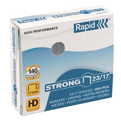 Niitti Rapid Strong 23/17 -1000 galvanoitu - kapasiteetti 140 arkkia