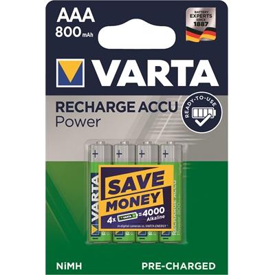 Varta Rechargable Accu AAA HR03/4 800 mAh