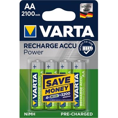 Varta Rechargeable Accu AA HR06/4 2100 mAh ladattava