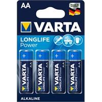 Paristo Varta Longlife Power AA LR6 /4 kpl - esim. taskulamppuihin, kauko-ohjattaviin, hiiriin ym