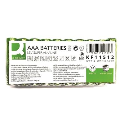 Paristo Q-Connect AAA Joutsenmerkki LR3 /20 - ympäristöystävällisempi vaihtoehto