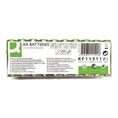 Paristo Q-Connect AA JoutsenmerkkiLR6 /20 - ympäristöystävällisempi vaihtoehto
