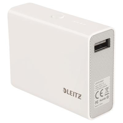 Varavirtalähde Leitz Complete 6000mAh USB valkoinen