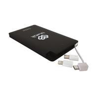 Varavirtalähde Bluebiit Powercard 5000 mAh - sisältää 3 erilaista adapteria!