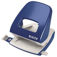 Lävistäjä Leitz NeXXt 5008 8cm sininen - kapasiteetti 30 arkkia, takuu 10 vuotta