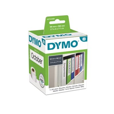 Tarra Dymo LW mappi leveä 190x59mm/110