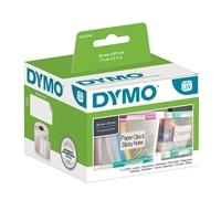 Tarra Dymo  LW 57X32mm yleistarra valkoinen